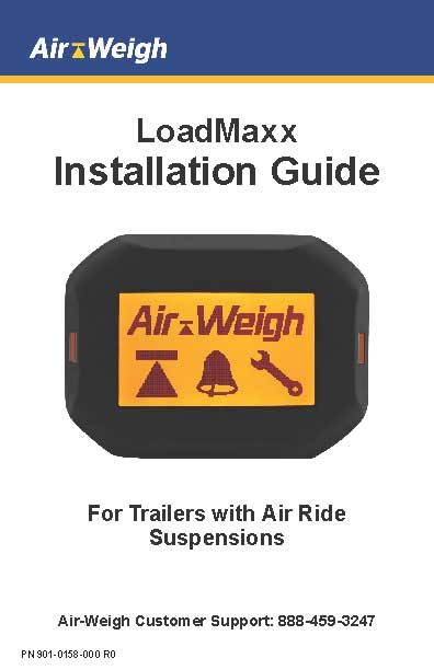 Installation Guide for Trailers with Air Ride Suspensions