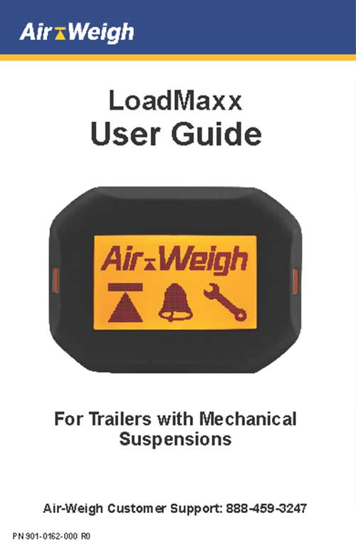 LoadMaxx User Guide for Trailers with Mechanical Suspensions