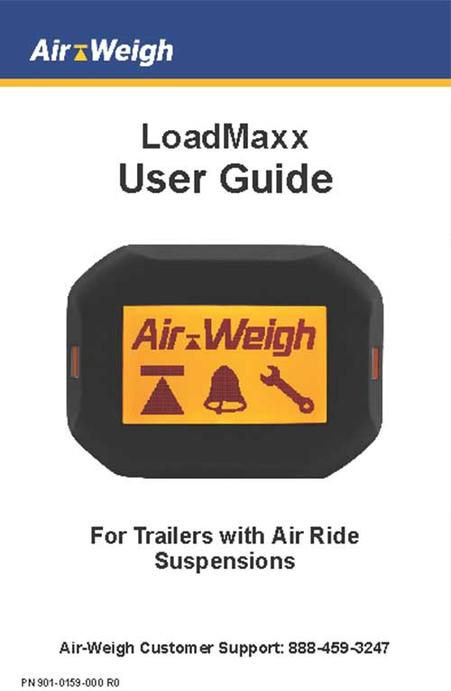 LoadMaxx User Guide For Trailers with Air Ride Suspensions