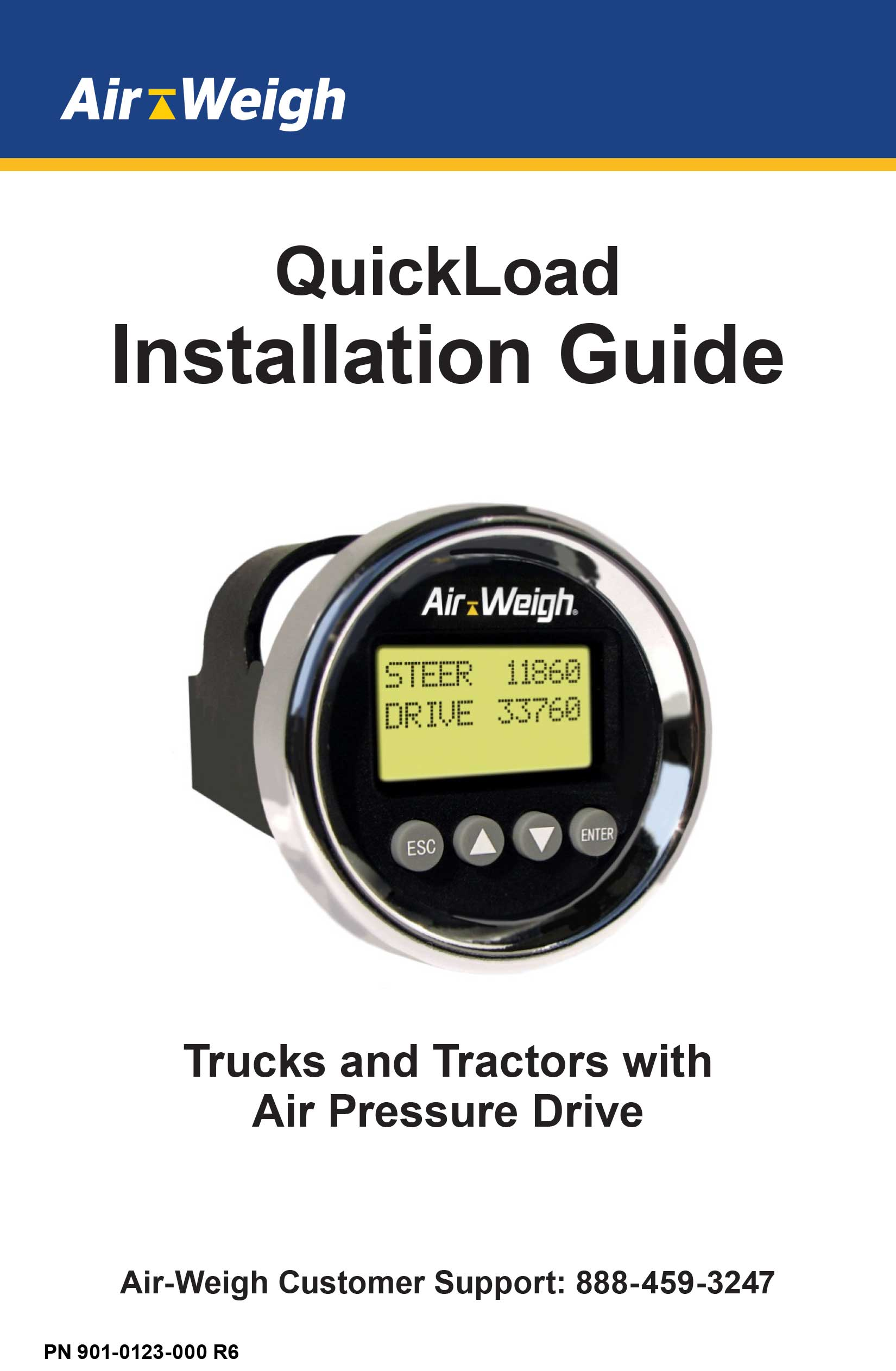 QuickLoad Installation Guide for Trucks and Trailers with Air Pressure Drive