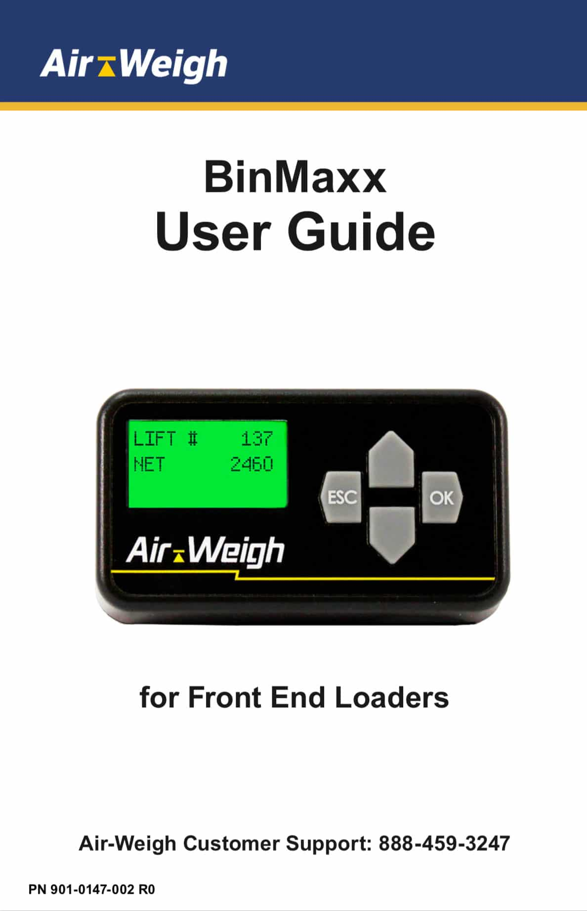 BinMaxx User Guide for Front End Loaders